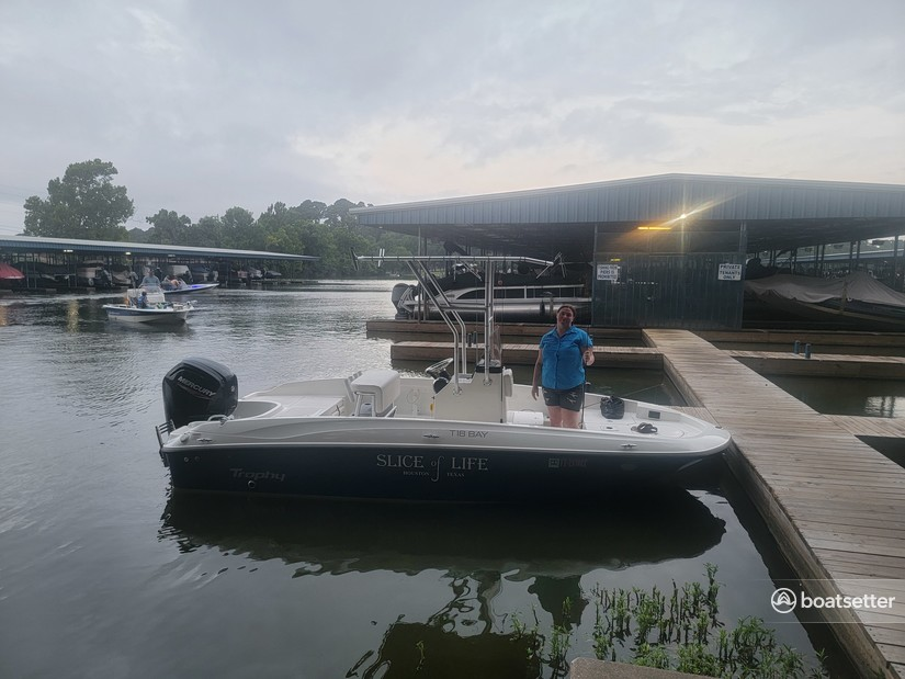 Rent a BAYLINER center console in Montgomery, TX near me