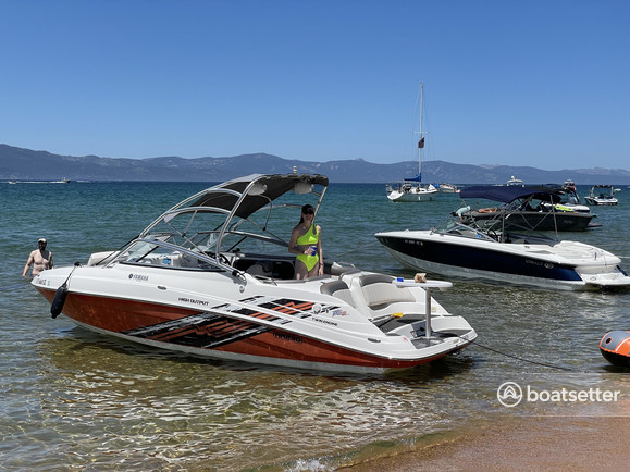 Rent a Yamaha jet boat in South Lake Tahoe, CA near me