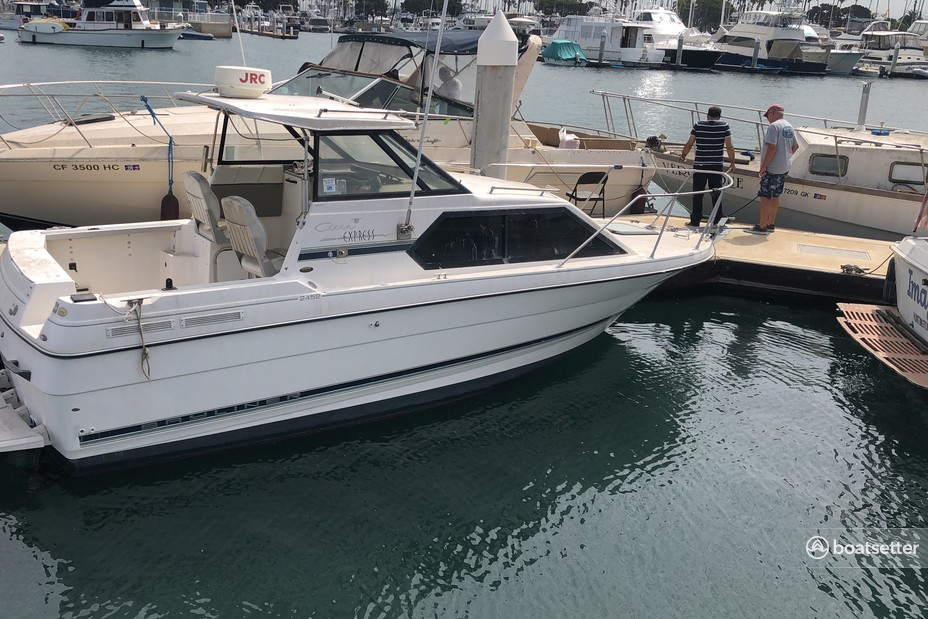Rent a Bayliner cruiser in Los Angeles, CA near me