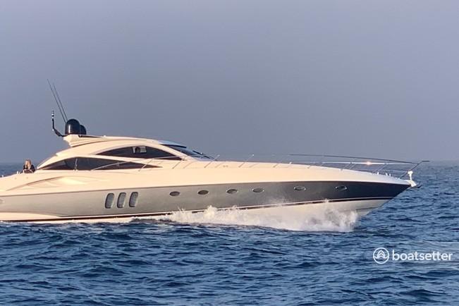 Rent a Sunseeker motor yacht in Newport Beach, CA near me