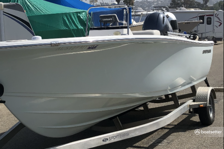 Rent a Sportsman Boats center console in San Diego, CA near me