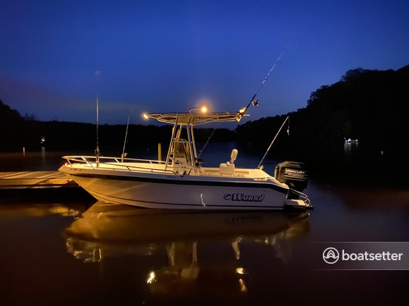 Rent a Wahoo Boats center console in Wake Forest, NC near me