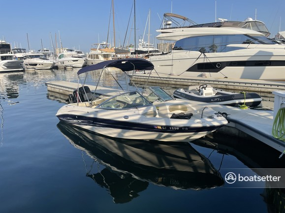 Rent a Sea Ray Boats fish and ski in Marina del Rey, CA near me