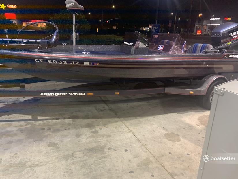 Rent a Ranger Boats (AR) bass boat in Hilmar, CA near me