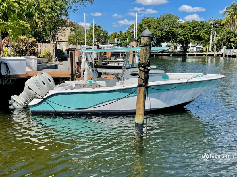 Rent a Sea Fox center console in Fort Lauderdale, FL near me