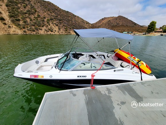 Rent a Yamaha bow rider in Los Angeles, CA near me