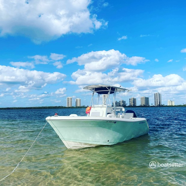 Rent a Cobia Boats center console in Port St. Lucie, FL near me