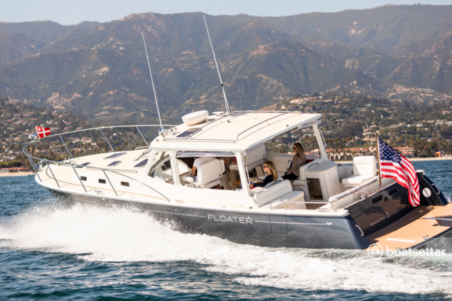 Rent a MJM motor yacht in Santa Barbara, CA near me