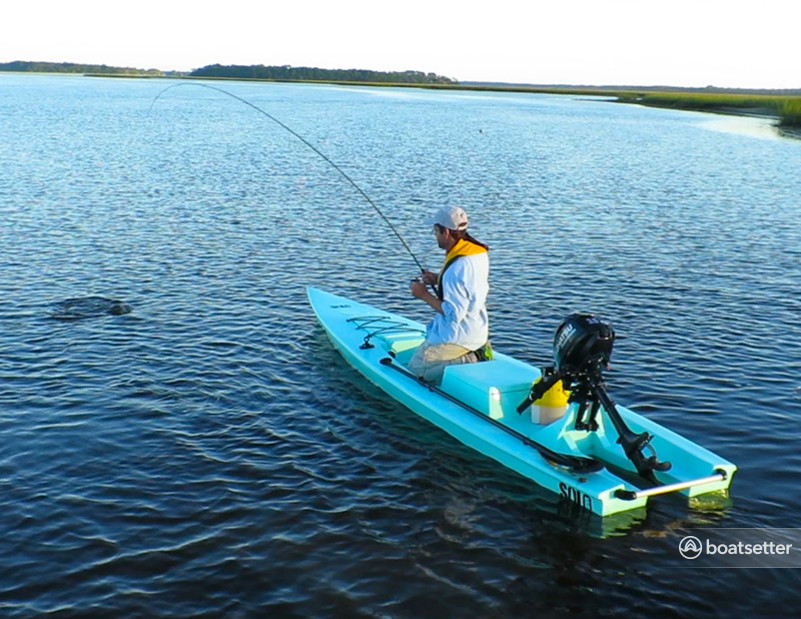 Rent a Solo Skiff angler in Houston, TX near me