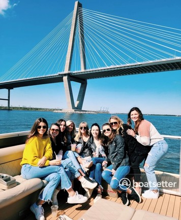 Rent a Fiesta Boats catamaran in Charleston, SC near me