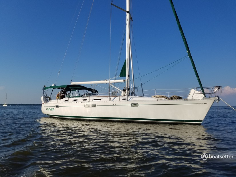 Rent a Beneteau USA sloop in Galesville, MD near me