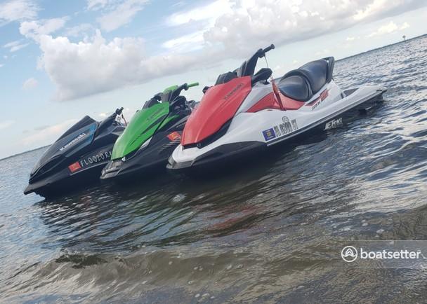 Rent a KAWASAKI jet ski / personal water craft in Tampa, FL near me