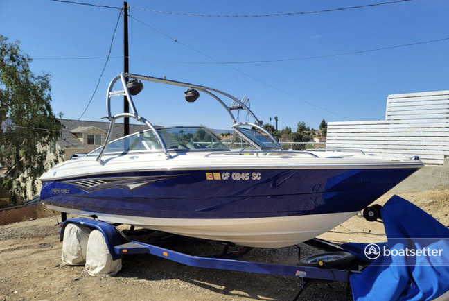 Rent a Monterey Boats bow rider in Rancho Cucamonga, CA near me