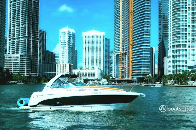 Rent a Chaparral Boats cruiser in Miami, FL near me
