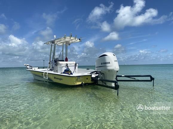 Rent a Ranger Boats (AR) center console in Homestead, FL near me