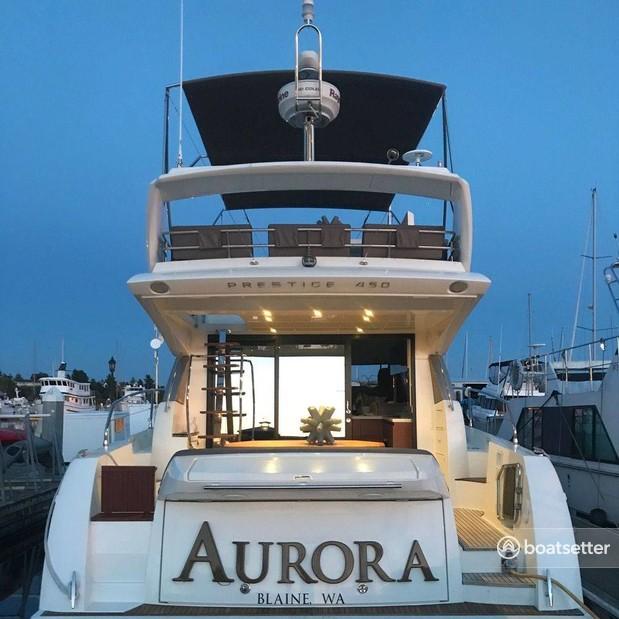 Rent a Prestige motor yacht in Seattle, WA near me