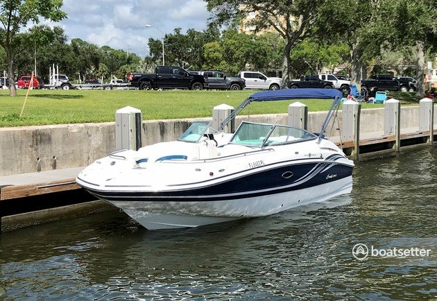 Rent a Hurricane Boats bow rider in Clearwater, FL near me