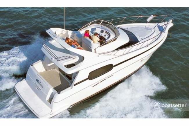 Rent a Silverton Marine motor yacht in Miami Beach, FL near me