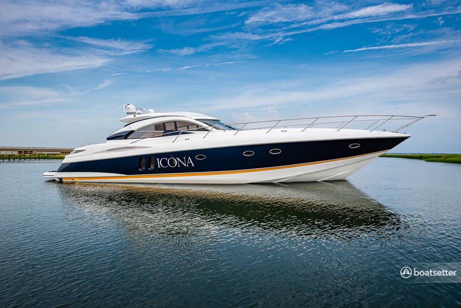 Rent a Sunseeker motor yacht in Stone Harbor, NJ near me