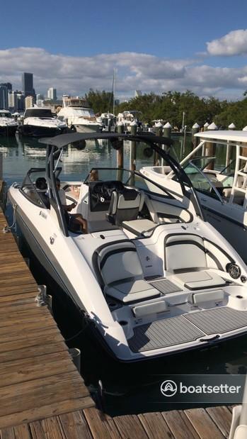 Rent a YAMAHA jet boat in Miami Beach, FL near me