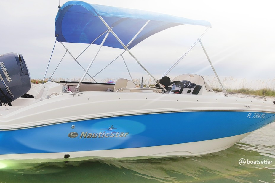 Rent a NauticStar Boats deck boat in Gibsonton, FL near me