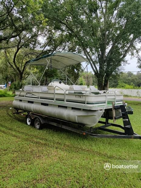 Rent a Godfrey Marine pontoon in Tampa, FL near me