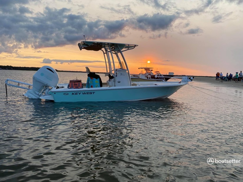 Rent a KEY WEST BOATS center console in Saint Helena Island, SC near me