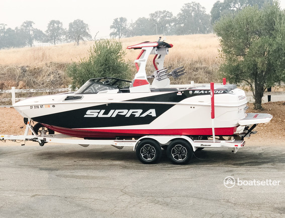 Rent a Supra By Skiers Choice ski and wakeboard in La Grange, CA near me