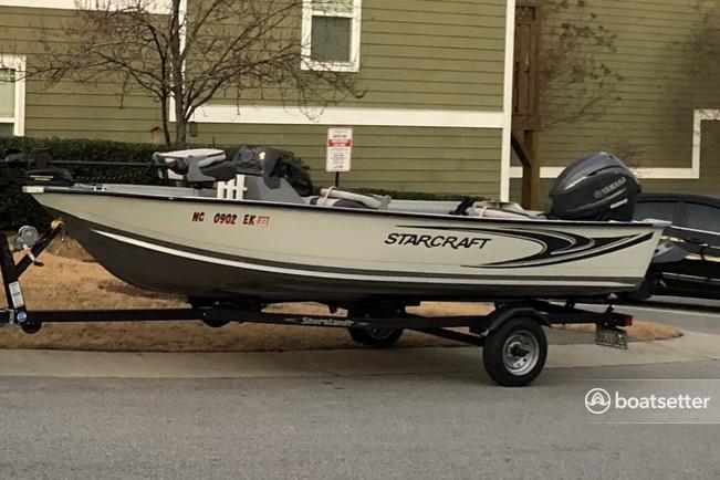 Rent a STARCRAFT MARINE aluminum fishing in Apex, NC near me