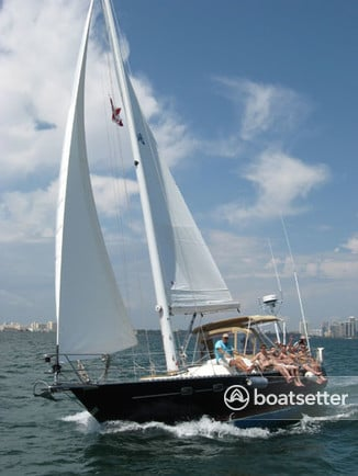 Rent a Freedom Yachts cruiser in Miami, FL near me