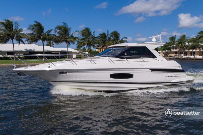 Rent a Regal cruiser in Sunny Isles Beach, FL near me