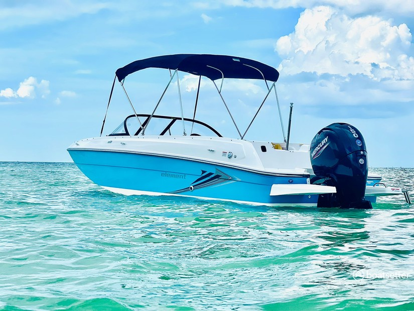Rent a BAYLINER bow rider in Tampa, FL near me