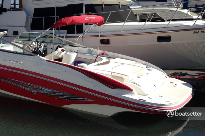 Rent a Rinker Boats bow rider in San Diego, CA near me