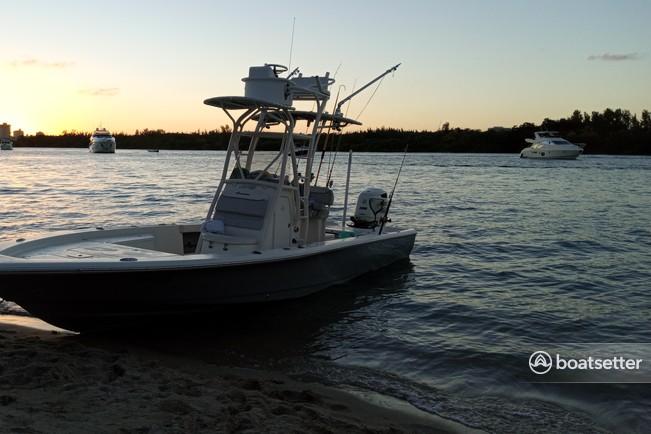 Rent a SUZUKI flats boat in North Miami, FL near me