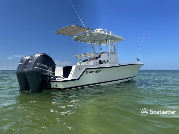 Rent a Contender Boats center console in Naples, FL near me