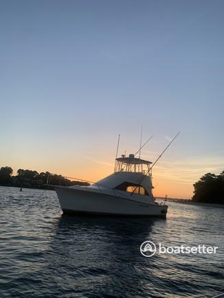Rent a Ocean Yachts cruiser in Virginia Beach, VA near me