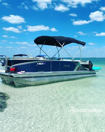 Rent a Avalon  pontoon in Clearwater, FL near me