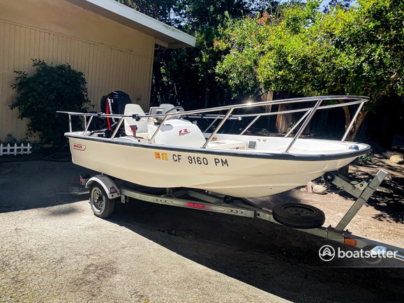 Rent a Boston Whaler runabout in San Jose, CA near me