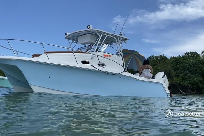 Rent a Pro Sports Boats catamaran in Homestead, FL near me