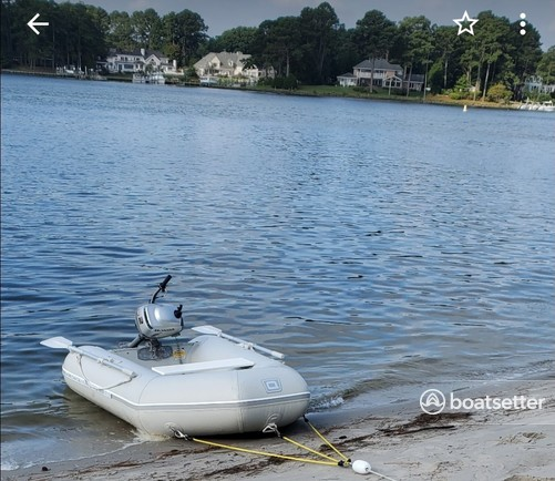 Rent a Quicksilver by Mercury Marine inflatable outboard in Virginia Beach, VA near me