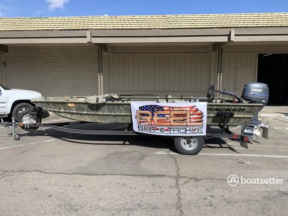 Rent a TRACKER BY TRACKER MARINE aluminum fishing in Rio Linda, CA near me