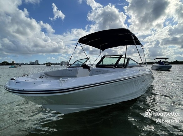Rent a SEA RAY BOATS airboat in Panama City Beach, FL near me