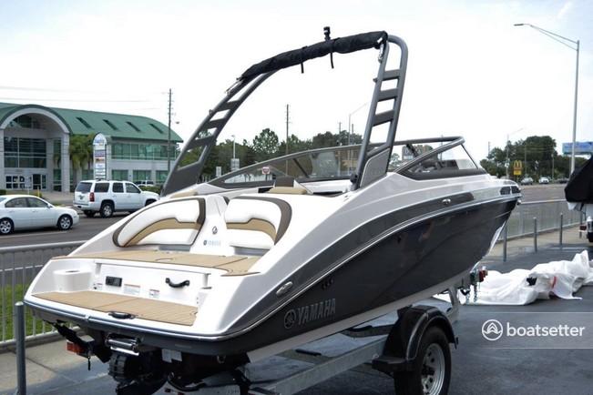 Rent a YAMAHA jet boat in Jacksonville, FL near me