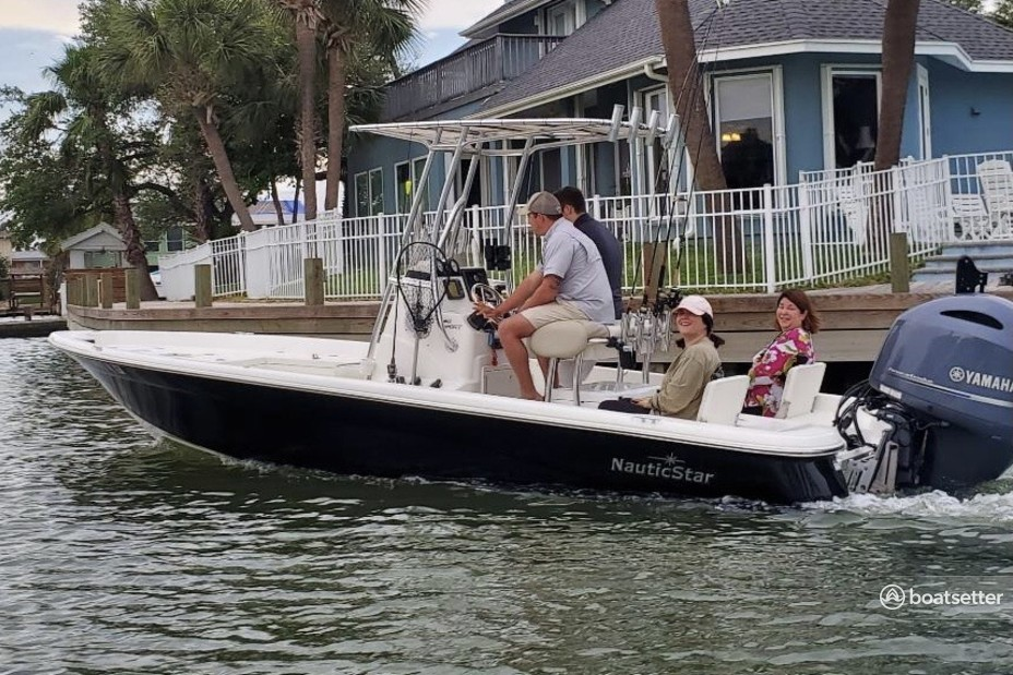 Rent a NAUTICSTAR BOATS saltwater fishing in Seabrook, TX near me