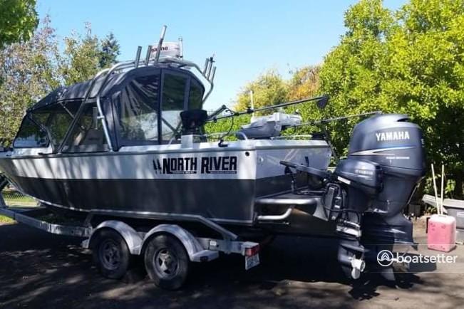 Rent a North River  aluminum fishing in Ferndale, WA near me