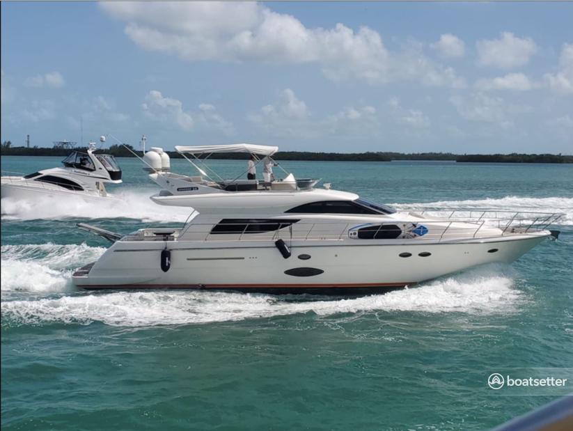 Rent a Uniesse motor yacht in Miami Beach, FL near me