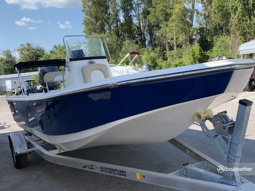 Rent a SUNDANCE BOATS skiff in Brandon, FL near me