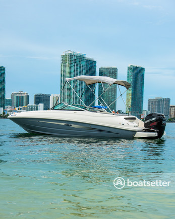 Rent a Sea Ray Boats bow rider in Key Biscayne, FL near me