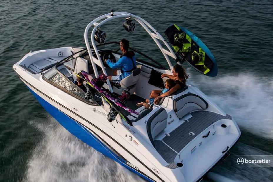 Rent a YAMAHA jet boat in Belleair Bluffs, FL near me