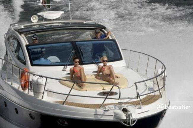 Rent a Cranchi motor yacht in Miami Beach, FL near me